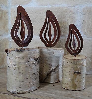 Edelrost Fasan zum Einschrauben 27,5 x 15,5 cm