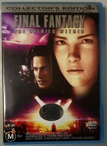 Final-Fantasy-The-Spirits-Within-2-Disc-Collectors-Edition-DVD-GREAT-cond-R4