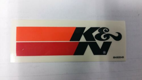 K/&N AIR FILTER DECAL STICKER 1100 x 30mm