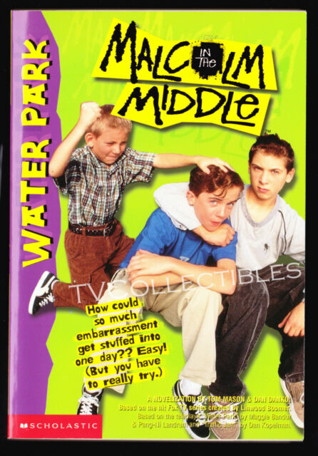 Book~ TV's MALCOLM IN THE MIDDLE #2 Water Park ~2000~Tom Mason ~Justin Berfield