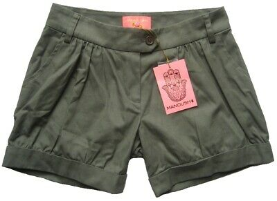 Manoush Damen-short Short Parka Ete Oliv Gr.34 Gr.36 Gr.38 Shorts & Bermudas Damenmode