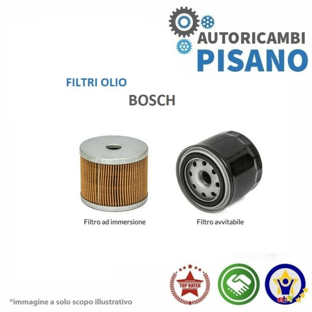 FILTRO OLIO MOTORE BOSCH 0451203152