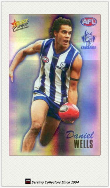 2007 AFL Herald Sun Trading Cards Foil Promo Card P9: D. Wells