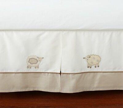 Sweet Lambie Lamb Baby Crib Bed Skirt