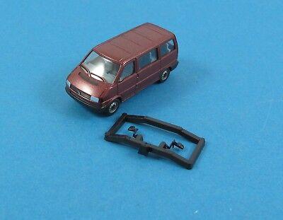 Herpa 1//87 Nr 041577 VW Volkswagen T4 Caravelle Bus Bully rotmetallic OVP #7521
