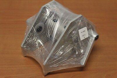 80//20 Aluminum Right Hand 90 Degree Pivot Bracket 40 Series 40-4337 Black J3-06
