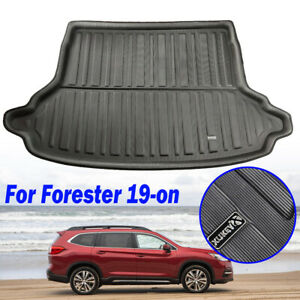 Cargo-Trunk-Floor-Mat-Boot-Liner-Tray-Carpet-For-Subaru-Forester-SK-2019-on