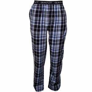 Gant Mens Pajama Pants Gingham Pyjama Bottoms