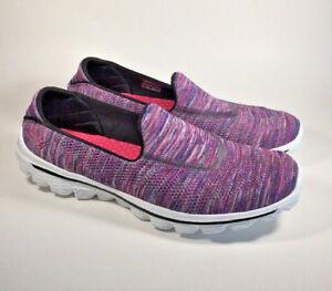 Skechers Multi Knit Slip On Shoes —