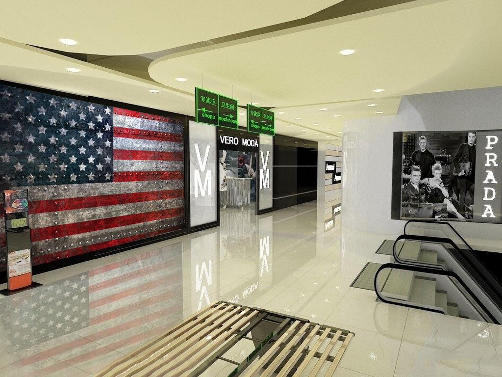 3D Amerikanische Flagge5 Tapete Tapeten Mauer Foto Familie Tapete Wandgemälde DE