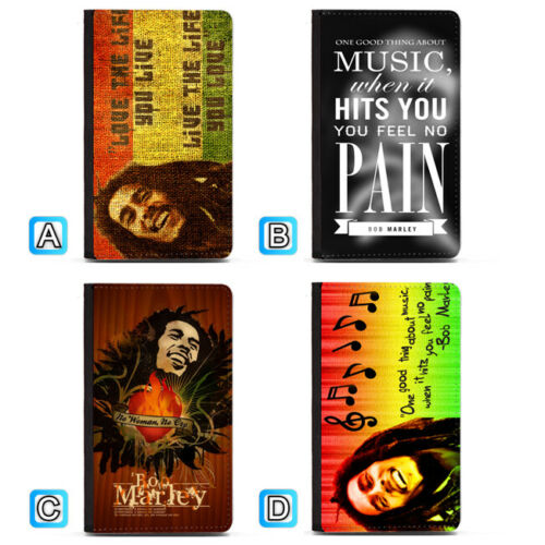 Bob Marley Live The Life You Love Passport Holder PU Leather Cover Travel Wallet