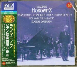 VLADIMIR-HOROWITZ-RACHMANINOFF-PIANO-CONCERTO-NO-3-JAPAN-BLU-SPEC-CD2-D20