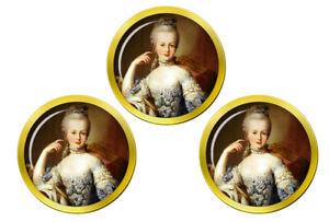 Marie-Antoinette-Marqueurs-de-Balles-de-Golf