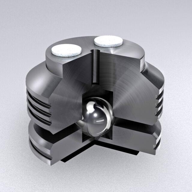 Isolating feet for turntables and speakers Type 4,  Bearing Type, Entkoppler.