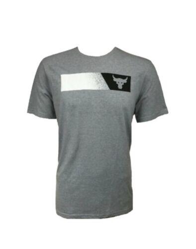 Under Armour Mens UA Project Rock Brahma Bull T-Shirt Size M