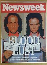 "Natural Born Killers 32"" x 24"" Movie Poster Mickey Man Cave Bar Serial Murder"