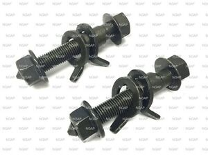 Front Adjustable Cam Camber Bolt Kit For Nissan Maxima Murano Quest NV200 /& More