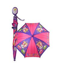 New Shopkins Kids Umbrella Girls Parasol Paraguas - Purple