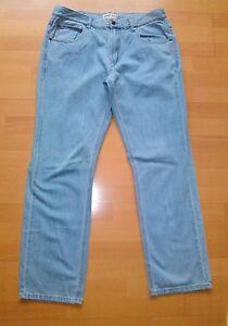 Herrenjeans-Jeans-Herrenhose-Hose-Hell-Blau-100-BW-Gr-52-JOHN-F-GEE-Wie-Neu