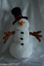 MUSICAL FROSTY THE SNOWMAN-MUSICAL-LIGHT UP BLINKING HAND-PLAYS ENTIRE SONG