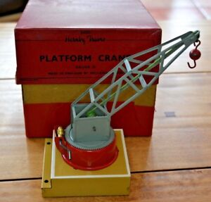 Vintage Hornby O Gauge Platform Crane Near Mint Condition