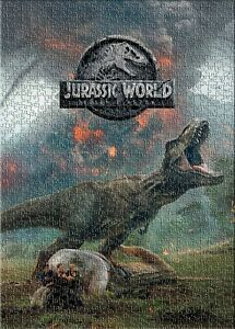 Jurassic World Fallen Kingdom Dinosaur isla Nublar Puzzle Jigsaws 1000 Pcs Hobby
