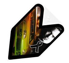 ## JDM WAKABA BADGE RIP PAUL WALKER FAST FURIOUS Car Decal not vinyl sticker ##