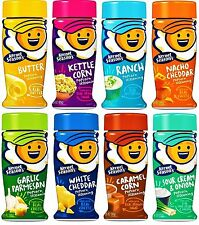 PACK of 8 Favorites KERNEL SEASON'S Popcorn Seasoning Variety Sampler Sour Cream