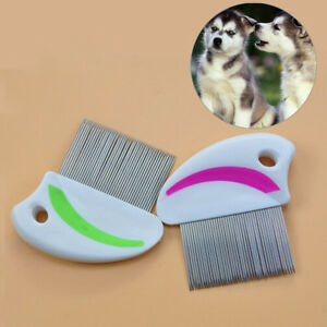Stainless-steel-needle-comb-hair-brush-shedding-flea-for-cat-dog-pets-trimmer-JC
