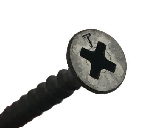 Plâtre plaque de plâtre VIS BUGLE TÊTE grossier fil noir Phosphate
