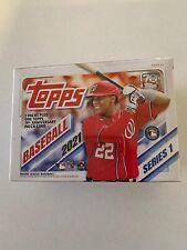 2021 Topps Series 1 Baseball 7 Pack Blaster Box Ships Now