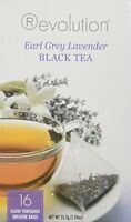 Revolution Tea Earl Grey Lavender Tea -- 16 Tea Bags - 672145004030 Food and Drink