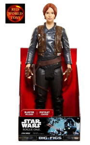 Star-Wars-Rogue-One-Jyn-Erso-Big-Figure-blaster-18-inch-Toy-Action-Figure-NEW