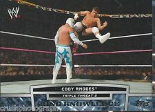 Cody Rhodes Triple Threat 2 Ring Knowledge 2013 WWE Topps Trading Card TT13-2