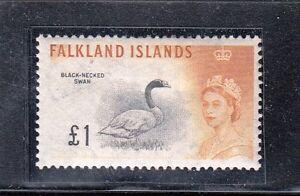 VF182 FALKLAND ISLANDS #142 STAMPS - MINT, ORIGINAL GUM, HINGED $50.00