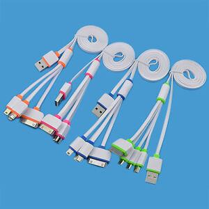 LC-delicat-4-En-1-Micro-USB-multifonction-cable-du-Chargeur-pour-iPhone-4S-5