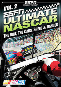 ESPN-Ultimate-NASCAR-Vol-2-The-Dirt-The-Cars-Speed-and-Danger-NEW