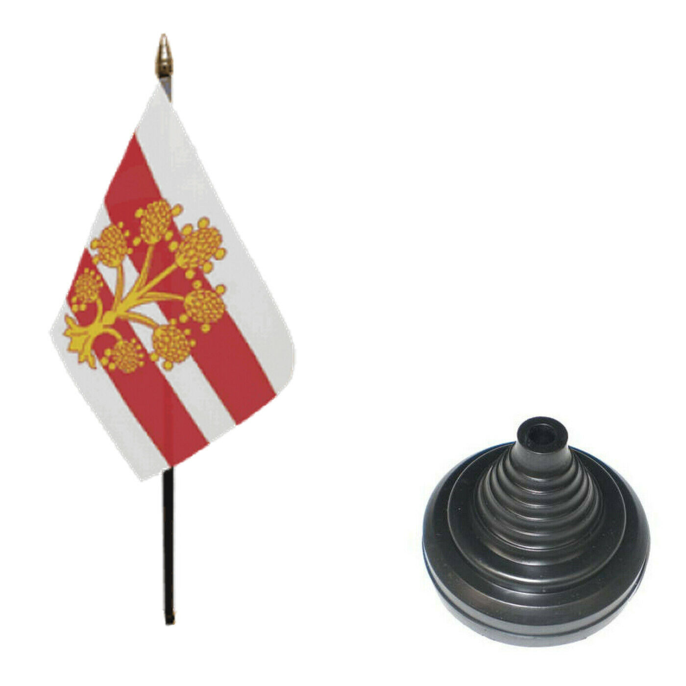 Westmorland County 6 X 4 Desk Table Flag With Black Plastic Cone Base Ebay