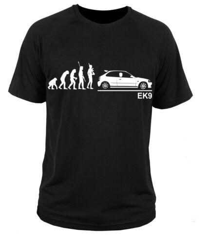 T Shirt T-shirt Honda Civic EK9 type R JDM