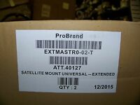 Direct Tv Satellite Mount Universal Extended Pro Brand 2 Per Box
