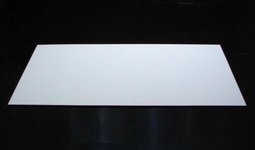 Plattenmaterial Gfk weiß Werkstoff für Modellbau