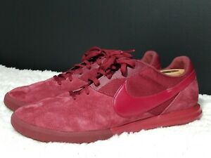 Nike-Premier-II-Sala-Red-Men-s-Indoor-Soccer-shoes-Size-12-Brand-New
