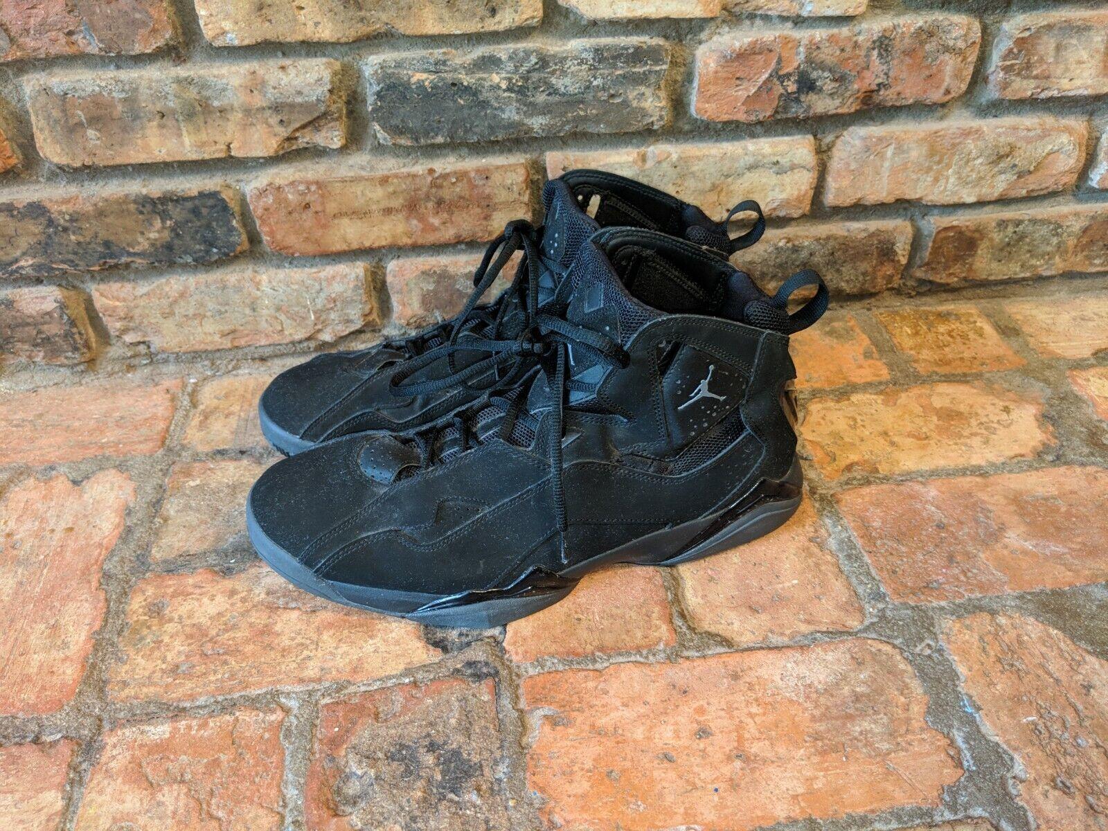 Nike Air Jordan 1 Basketball shoes. Size 14. Black. Worn once