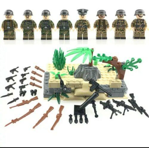 ⭐Lego WW2 Bataille de Normandie Soldats Allemands Militaire Armée Military  ⭐
