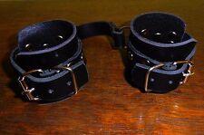 Leder-Handschellen-Bdsm-Zubehör-Fetisch-Spiel-Handmade-Handgelenk-Manschetten
