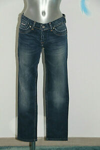 Détails sur jeans droit bleu denim KAPORAL 5 kate Taille W27 soit 3638 fr excellent état