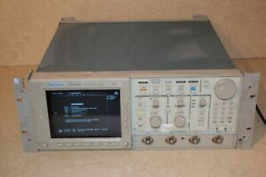 aa Test, Measurement & Inspection Careful Tektronix Tds 640 Tds640 Four Channel Digitizing Oscilloscope