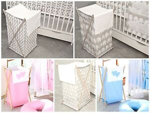 Image Is Loading Baby Nursery Laundry Basket Toy Bin Linen Hamper