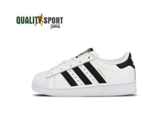 Superstar Bambino Adidas Scarpe Bianco Sneakers C Nero Shoes Ba8378 Sportive TdRq1dw