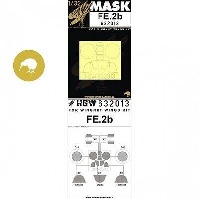 WNW HGW 632013 1//32 Royal-Aircraft-Factory Fe.2b Wheel Paint Mask